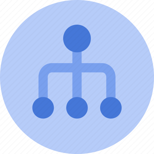 chart, company, flow chart, organisation, structure icon