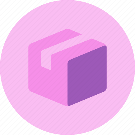 box, delivery, item, package, parcel, postage icon