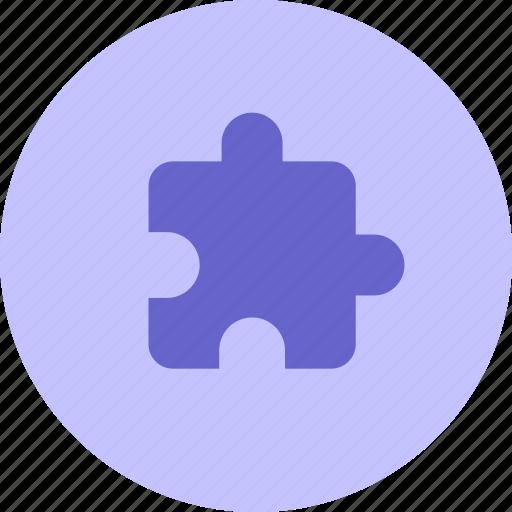 attach, extension, integration, plugin, puzzle icon