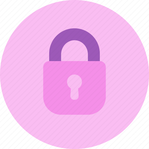 lock, login, password, private, secure, security icon