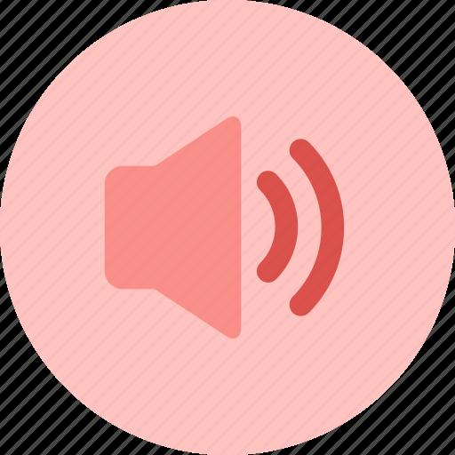 music, sound, speaker, voice, volume icon
