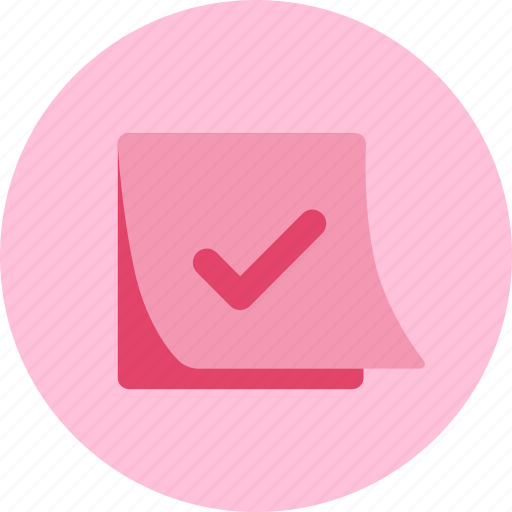 checklist, note, sticky, todo icon