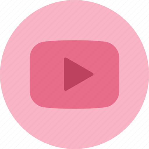 media, play, show, streaming, video, youtube icon