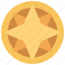 overlapping, star, coin, prize, achievement