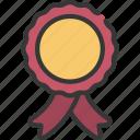 ribbon, award, prize, achievement, banner