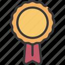 ribbon, prize, achievement, banner, excellent