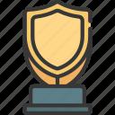 shield, award, prize, achievement, trophy