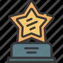 shiny, star, award, prize, achievement
