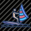 wind, surfing