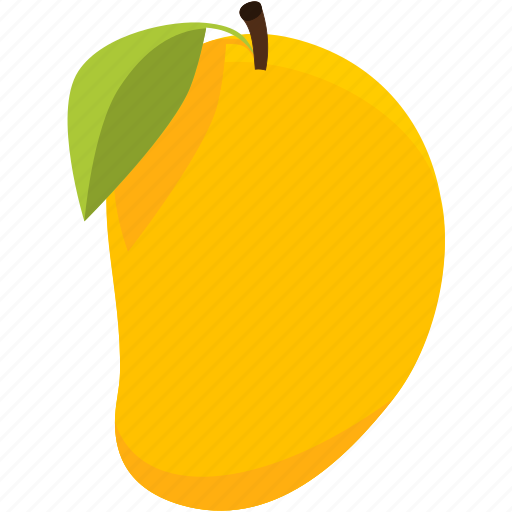 food, fruit, mango, tropicalfruits, yellow icon