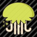 creature, jellyfish, ocean icon