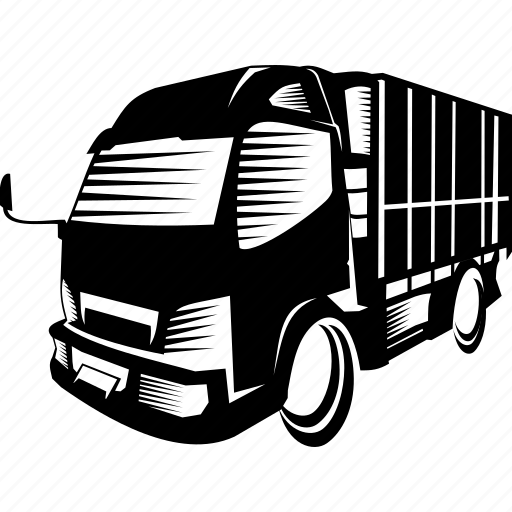 car, container, trailer, transportation, truck icon