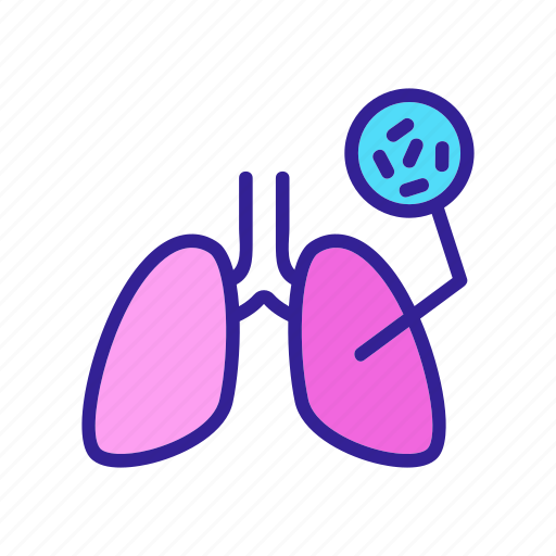 Disease, human, infected, lung, tuberculesis, tuberculosis icon - Download on Iconfinder