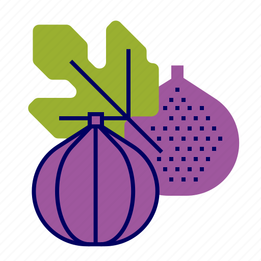 fig, food, fruit, fruit icon, raw food icon