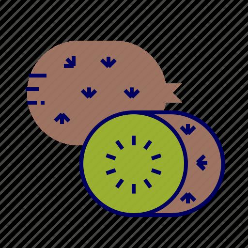 food, fruit, fruit icon, kiwi icon