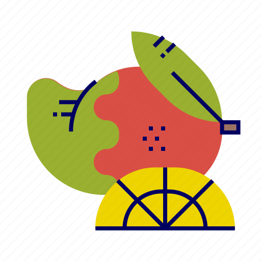 food, fruit, fruit icons, mango icon