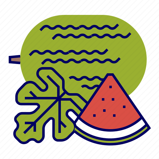 colors, food, fruit, fruit icons, green, red, watermelon icon
