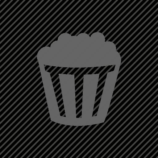 cinema, corn, entertainment, film, food, movie, popcorn, television, tv, video icon