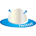spaceship, twitter icon