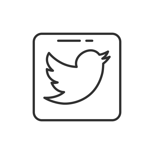 logo, social media, twitter, twitter button icon