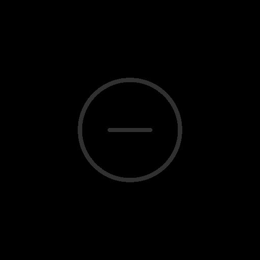 block, cancel, setting, twitter icon