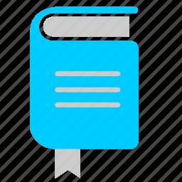 book, literature, read, text icon