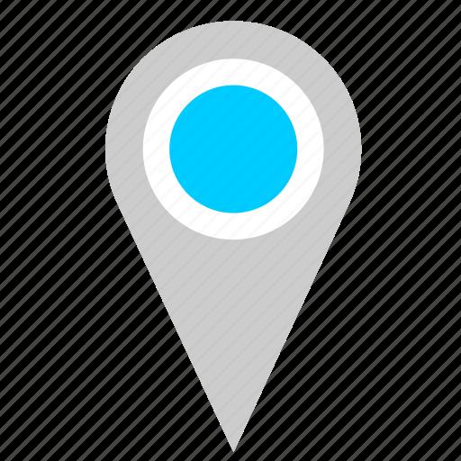 geo, label, location, poi, pointer icon