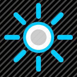 lamp, light, lighting, shine, sun icon