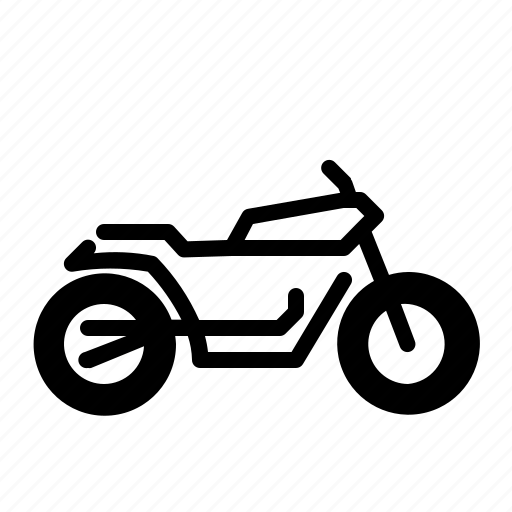 bike, cafe, modification, motorbike, motorcycle, racer, transport icon