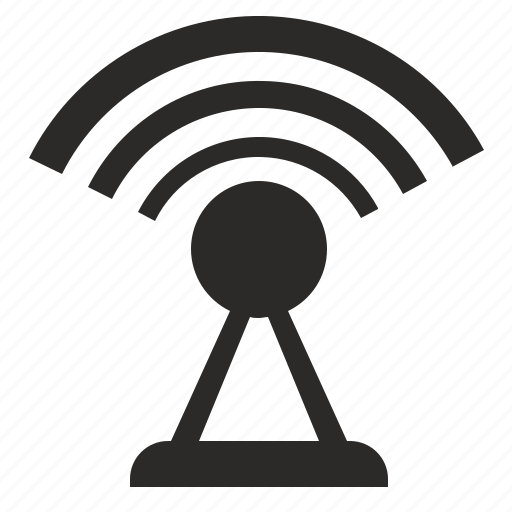 access, dot, free, internet, signal icon