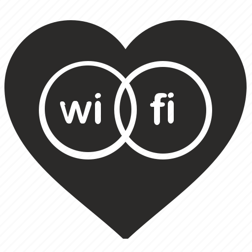 access, free, internet, like, love, wifi icon