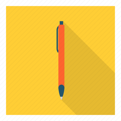 ballpoint, draw, education, pen, sketch, stationery, write icon