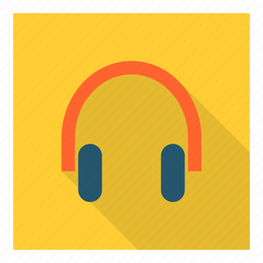 audio, device, earphones, headphones, headset, listen, music icon