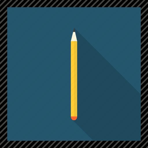 draw, mark, pencil, school, stationery, student, write icon