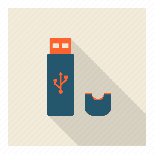 medium, memory, pendrive, stick, storage, technology, usb icon