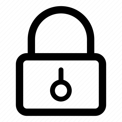 lock, locked, padlock, password, secure icon