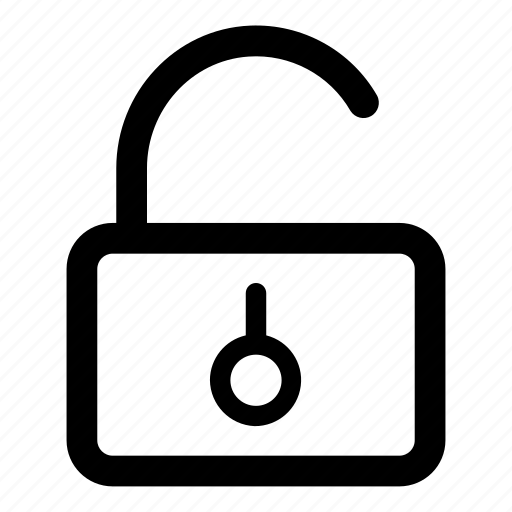 lock, padlock, password, unlock icon