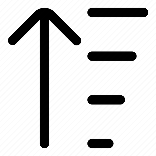 Sort, arrange, up, order icon - Download on Iconfinder