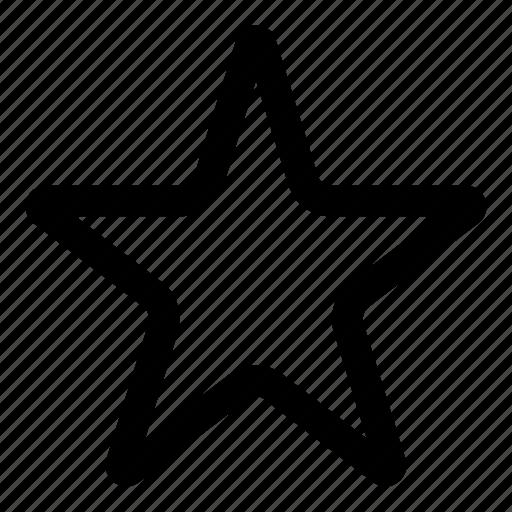 bookmark, favorite, like, marking, rating, star icon