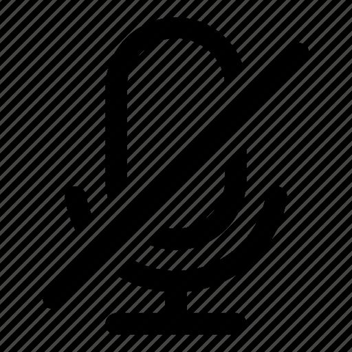 mic, microphone, mute, record, sound, voice icon