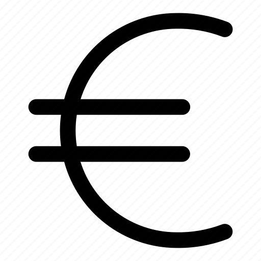 cash currency, coin, euro, money icon
