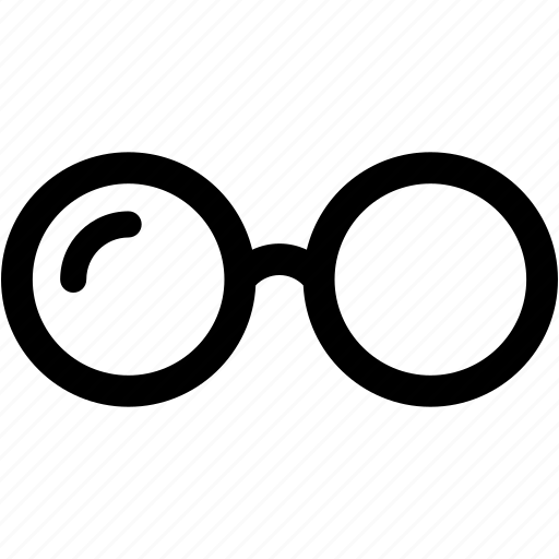 eyeglasses, glasses, spectacles, sunglasses, view icon