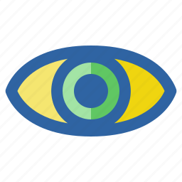 eye, ui, ux, visible, web, website icon