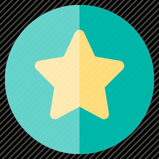 favorite, star, ui, ux, web, website icon
