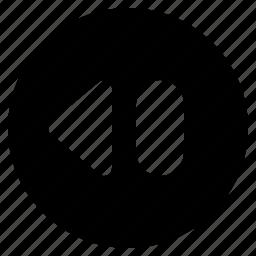 backward, ui, ux, web, website icon