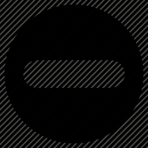 minus, ui, ux, web, website icon