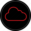 cloud, data, good, save, secured, weather icon