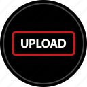 media, music, now, up, upload, video icon