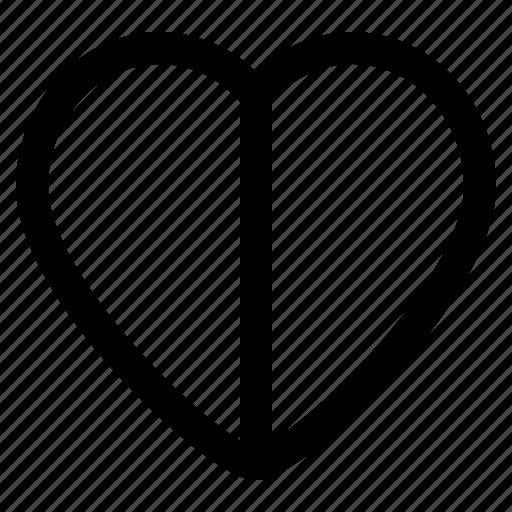 arrow, heart, interaction, interface, user icon