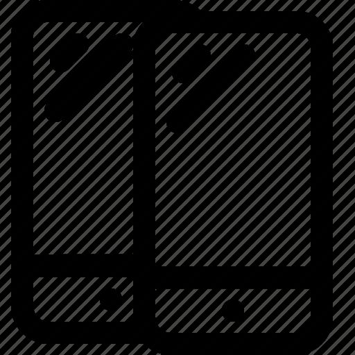 arrow, interaction, interface, mobile, user icon